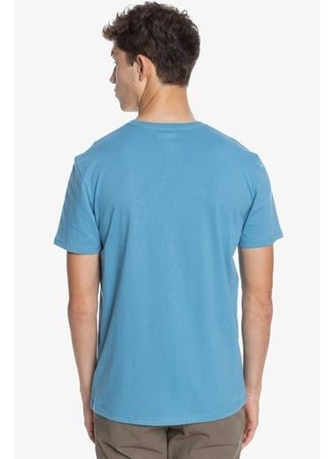 Quiksilver Tişört Wider Mile Eqyzt06328-Blf0 Mavi